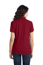 Load image into Gallery viewer, Port Authority Ladies Stretch Pique Polo. L555