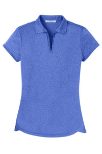 Port Authority Ladies Trace Heather Polo. L576