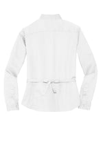 Load image into Gallery viewer, CLOSEOUT Port Authority Maternity Long Sleeve Easy Care Shirt.  L608M