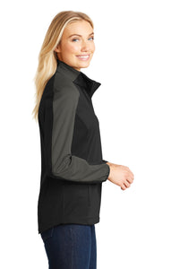 Port Authority Ladies Active Colorblock Soft Shell Jacket. L718