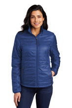 Load image into Gallery viewer, Port Authority Ladies Packable Puffy Jacket L850