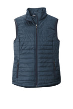 Load image into Gallery viewer, Port Authority  Ladies Packable Puffy Vest L851