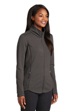 Load image into Gallery viewer, Port Authority  Ladies Collective Smooth Fleece Jacket. L904