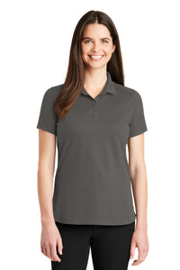 Port Authority Ladies SuperPro Knit Polo. LK164