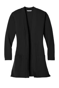 Port Authority  Ladies Concept Long Pocket Cardigan . LK5434