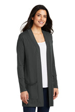 Load image into Gallery viewer, Port Authority  Ladies Concept Long Pocket Cardigan . LK5434