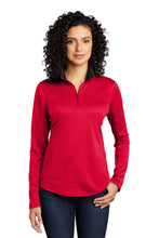 Load image into Gallery viewer, Port Authority  Ladies Silk Touch  Performance 1/4-Zip LK584