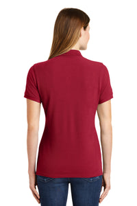 Port & Company Ladies Combed Ring Spun Pique Polo. LKP1500