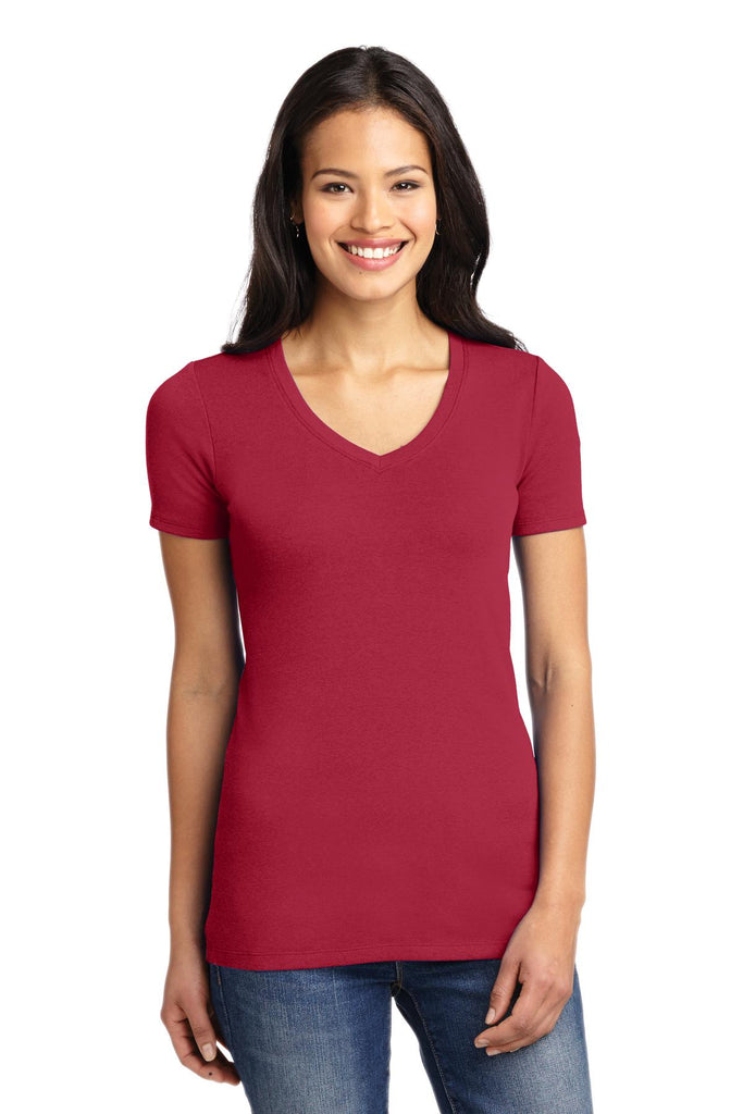 Port Authority Ladies Concept Stretch V-Neck Tee. LM1005