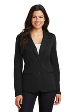 Load image into Gallery viewer, Port Authority Ladies Knit Blazer. LM2000