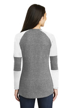 Load image into Gallery viewer, New Era  Ladies Tri-Blend Performance Baseball Tee. LNEA132