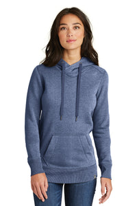 New Era  Ladies French Terry Pullover Hoodie. LNEA500