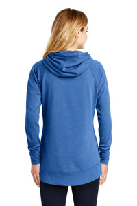 New Era  Ladies Tri-Blend Fleece Pullover Hoodie. LNEA510