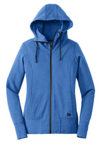 Load image into Gallery viewer, New Era  Ladies Tri-Blend Fleece Full-Zip Hoodie. LNEA511