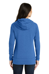 New Era  Ladies Tri-Blend Fleece Full-Zip Hoodie. LNEA511