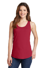 Load image into Gallery viewer, Port & Company Ladies Core Cotton Tank Top.  LPC54TT