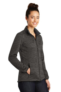 Sport-Tek Ladies PosiCharge Electric Heather Soft Shell Jacket. LST30