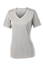 Load image into Gallery viewer, Sport-Tek Ladies PosiCharge Competitor V-Neck Tee. LST353