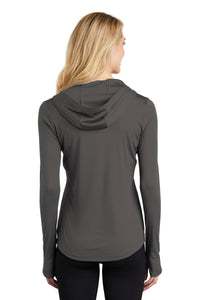 Sport-Tek  Ladies PosiCharge  Competitor  Hooded Pullover. LST358