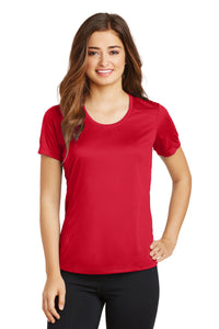 Sport-Tek Ladies PosiCharge Elevate Scoop Neck Tee. LST380