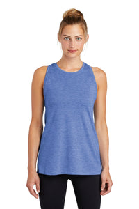 Sport-Tek  Ladies PosiCharge  Tri-Blend Wicking Tank. LST402