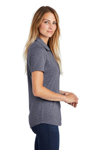 Sport-Tek  Ladies PosiCharge  Tri-Blend Wicking Polo. LST405