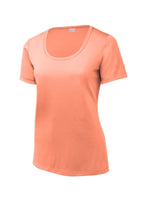 Load image into Gallery viewer, Sport-Tek  Ladies Posi-UV Pro Scoop Neck Tee. LST420