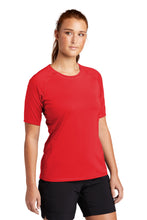 Load image into Gallery viewer, Sport-Tek  Ladies Rashguard Tee. LST470