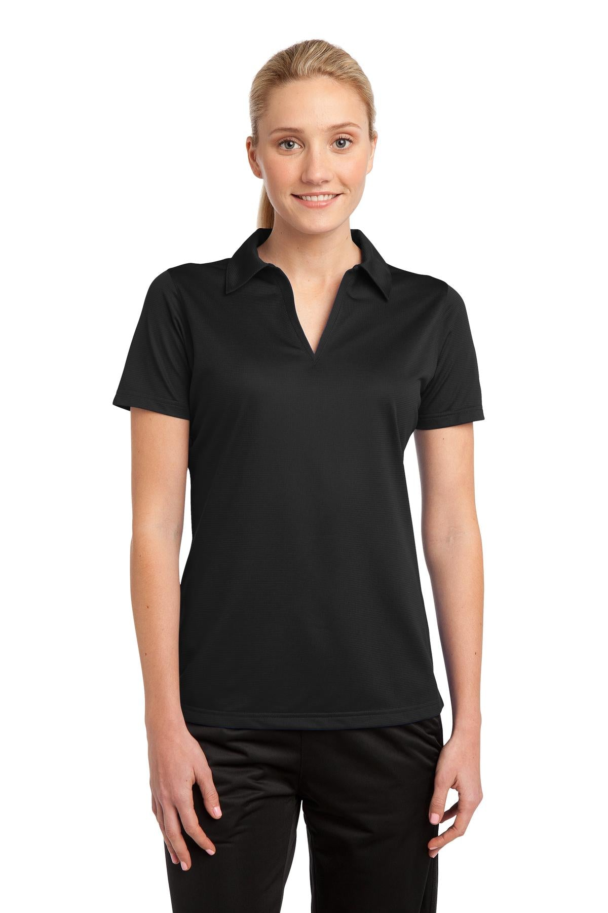 Sport-Tek Ladies PosiCharge Active Textured Polo. LST690