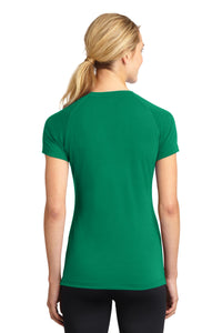 Sport-Tek Ladies Ultimate Performance V-Neck. LST700