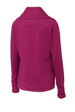 Load image into Gallery viewer, Sport-Tek Ladies Sport-Wick Stretch Full-Zip Jacket. LST852