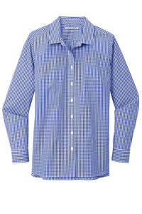 Port Authority  Ladies Broadcloth Gingham Easy Care Shirt LW644