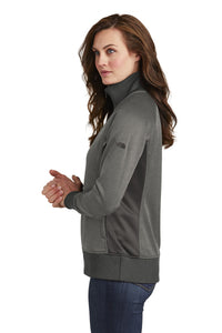 The North Face  Ladies Tech Full-Zip Fleece Jacket. NF0A3SEV