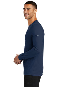 Nike Dri-FIT Cotton/Poly Long Sleeve Tee. NKBQ5230