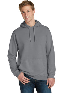 Port & Company Beach Wash Garment-Dyed Pullover Hooded Sweatshirt. PC098H