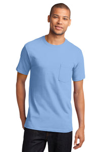 Port & Company - Tall Essential Pocket Tee. PC61PT