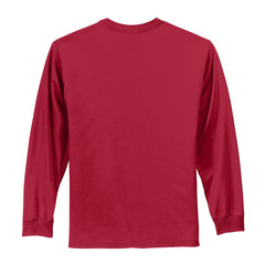 CLOSEOUT Port & Company - Youth Long Sleeve Essential Tee. PC61YLS