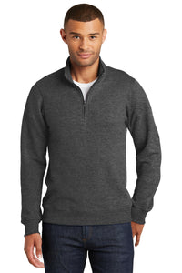 Port & Company Fan Favorite Fleece 1/4-Zip Pullover Sweatshirt. PC850Q