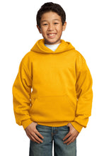 Load image into Gallery viewer, Port & Company - Youth Core Fleece Pullover Hooded Sweatshirt.  PC90YH