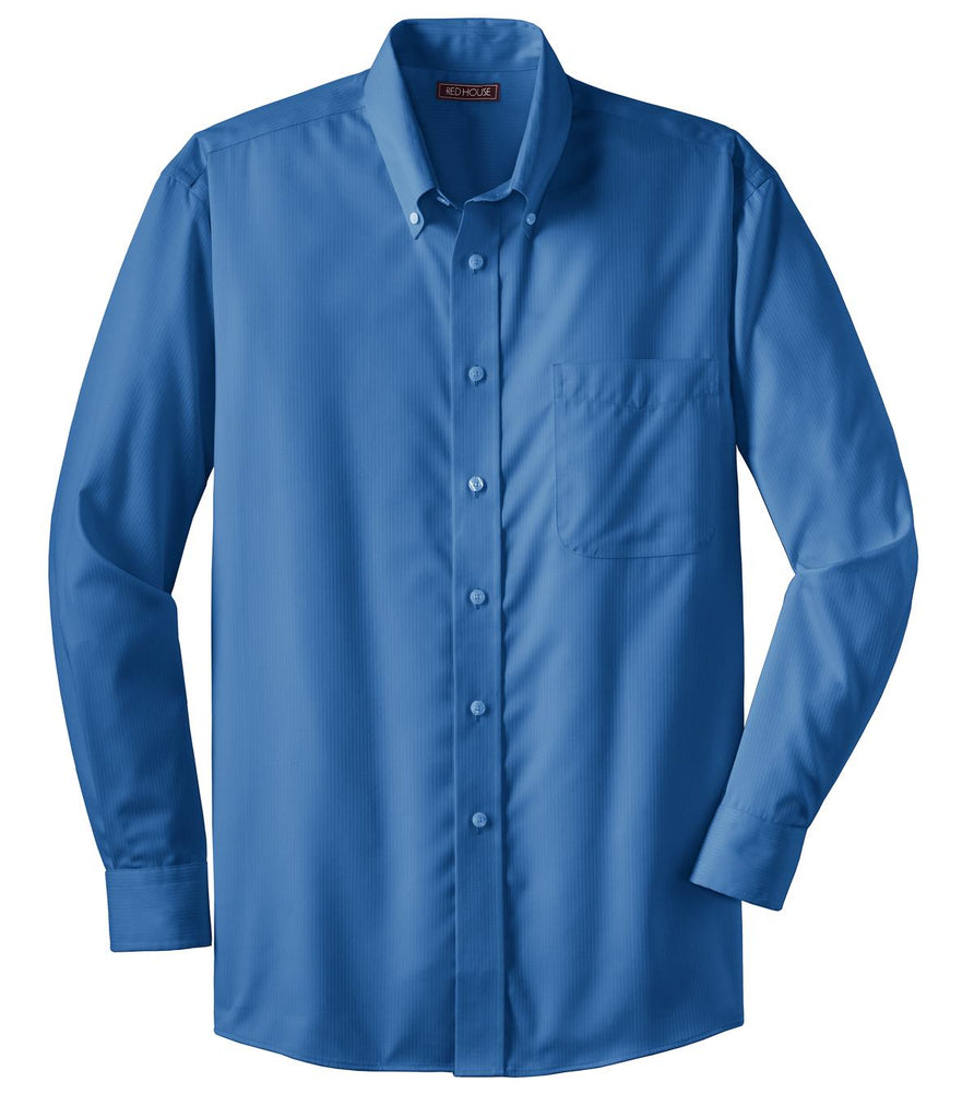 Red House -  Dobby Non-Iron Button-Down Shirt. RH60