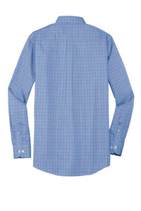 Red House Windowpane Plaid Non-Iron Shirt. RH70