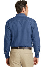 Load image into Gallery viewer, Port Authority Heavyweight Denim Shirt. S100