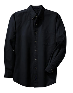 Port Authority Tall Long Sleeve Twill Shirt.  TLS600T