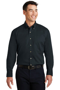 Port Authority Long Sleeve Twill Shirt.  S600T
