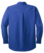 Load image into Gallery viewer, CLOSEOUT Port Authority Long Sleeve Easy Care  Soil Resistant Shirt.  S607