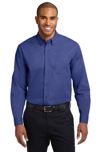 Port Authority Long Sleeve Easy Care Shirt.  S608