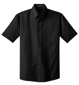 CLOSEOUT Port Authority Short Sleeve Value Poplin Shirt. S633