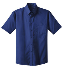 Load image into Gallery viewer, CLOSEOUT Port Authority Short Sleeve Value Poplin Shirt. S633