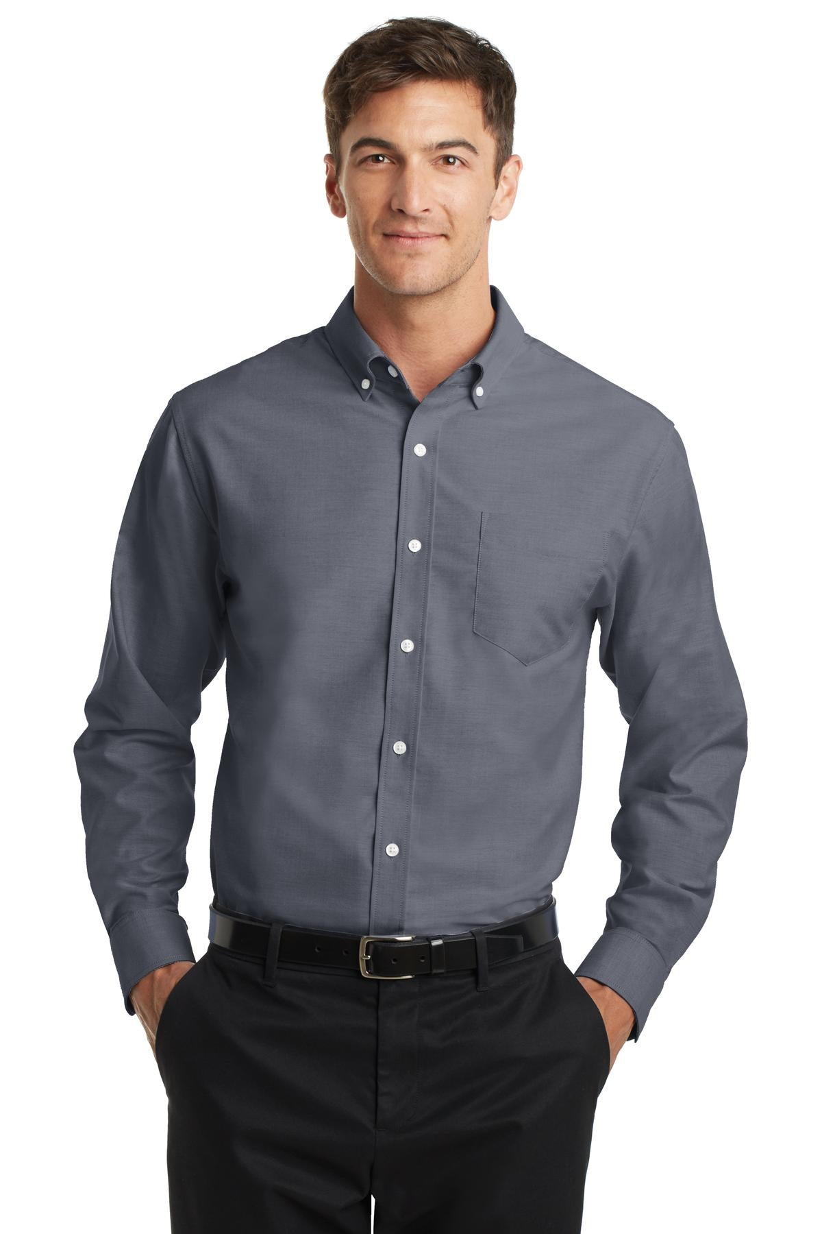 Port Authority SuperPro Oxford Shirt. S658