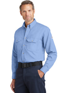 Bulwark EXCEL FR ComforTouch Dress Uniform Shirt. SLU2